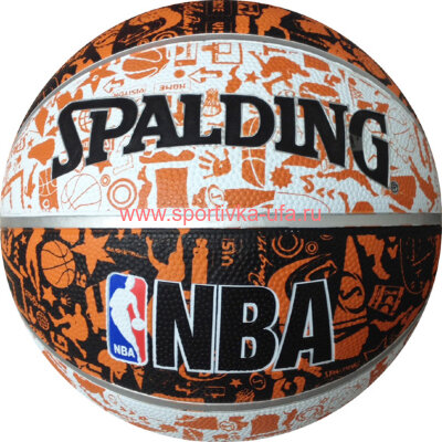 Мяч Spalding NBA Graffiti 73-722z р. 7