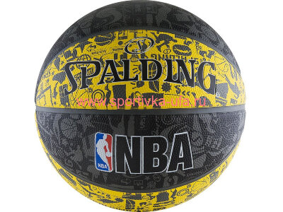 Мяч Spalding NBA Graffiti 83-176z р. 7